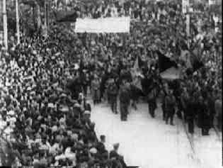 Durruti's funeral march - 500,000 attended