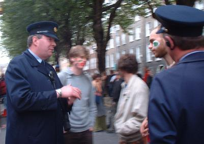 Talking to the cops