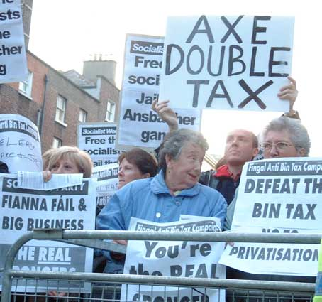 Axe the double tax