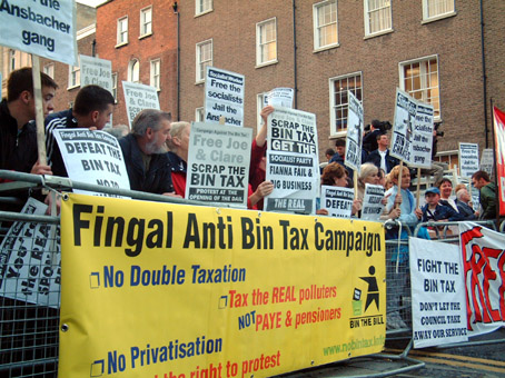 Fingal anti bin tax campaign