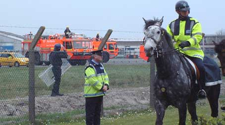 Mounted police In ireland