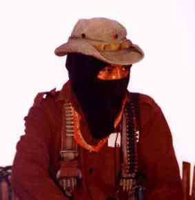 Comandante Tacho of the EZLN